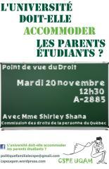 Affiche - conférence du 20 novembre 2012